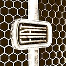Fiat 128 Honeycomb Grill  by melodyart