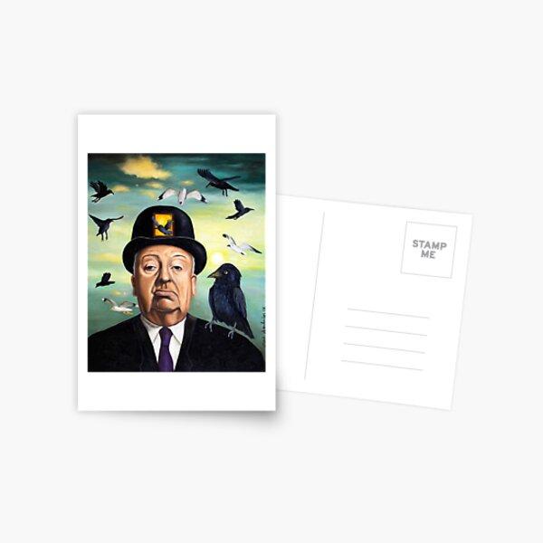 Alfred Hitchcock Postcard