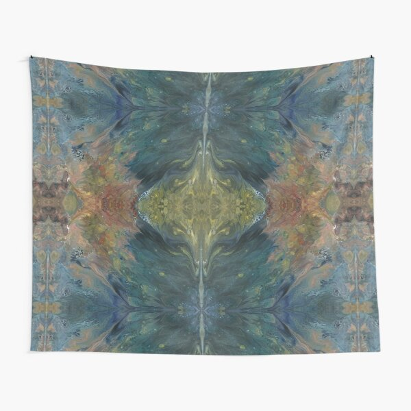 The River Dreams of Spring Tapestry