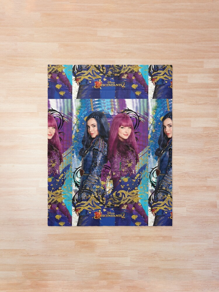 Alternate view of descendants poster 2 Comforter