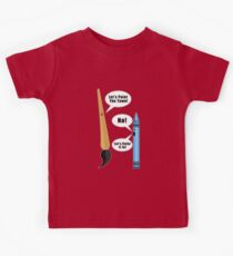 Lets Paint The Town! - Red Kids Clothes