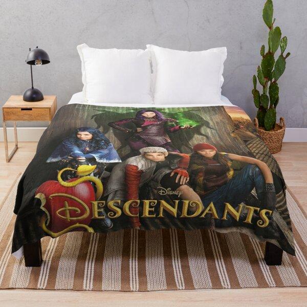 Descendants TV Show D3 Throw Blanket