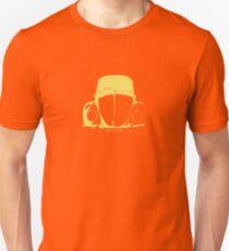VW Beetle - Yellow Unisex T-Shirt
