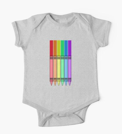 Rainbow Crayon 2 Kids Clothes