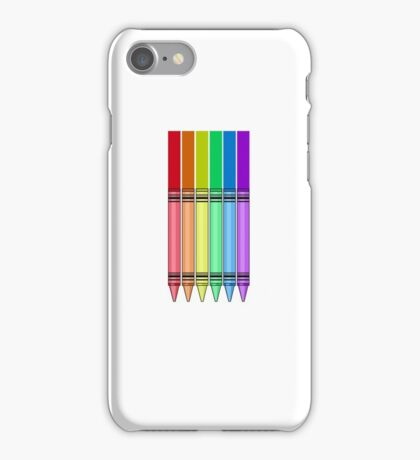Rainbow Crayon iPhone Case/Skin