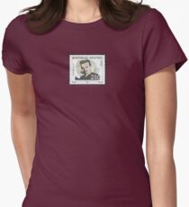 Tesla Stamp (Croatia) Women's Fitted T-Shirt