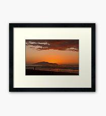Kapiti Island... Framed Print