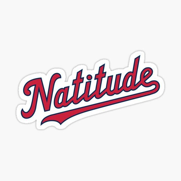 Natitude - White Sticker