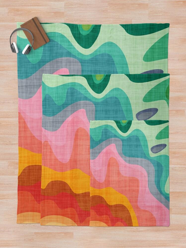 Alternate view of Flouncy Flouncy Throw Blanket