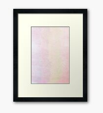 Distressed ombre Framed Print