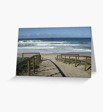 Budgewoi Beach, NSW Australia Greeting Card