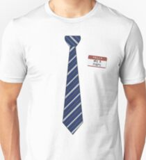 Geek Tie Shirt - Neil B. Formy (blue) Unisex T-Shirt