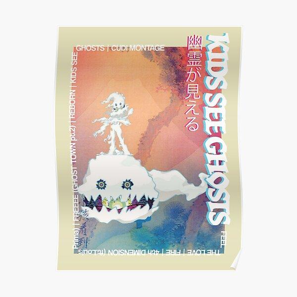 Kids See Ghosts Art Print Poster