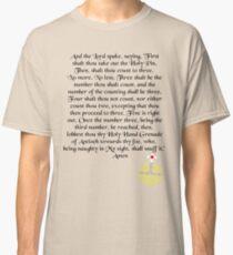 Camiseta clásica La granada de mano sagrada de Antioquía