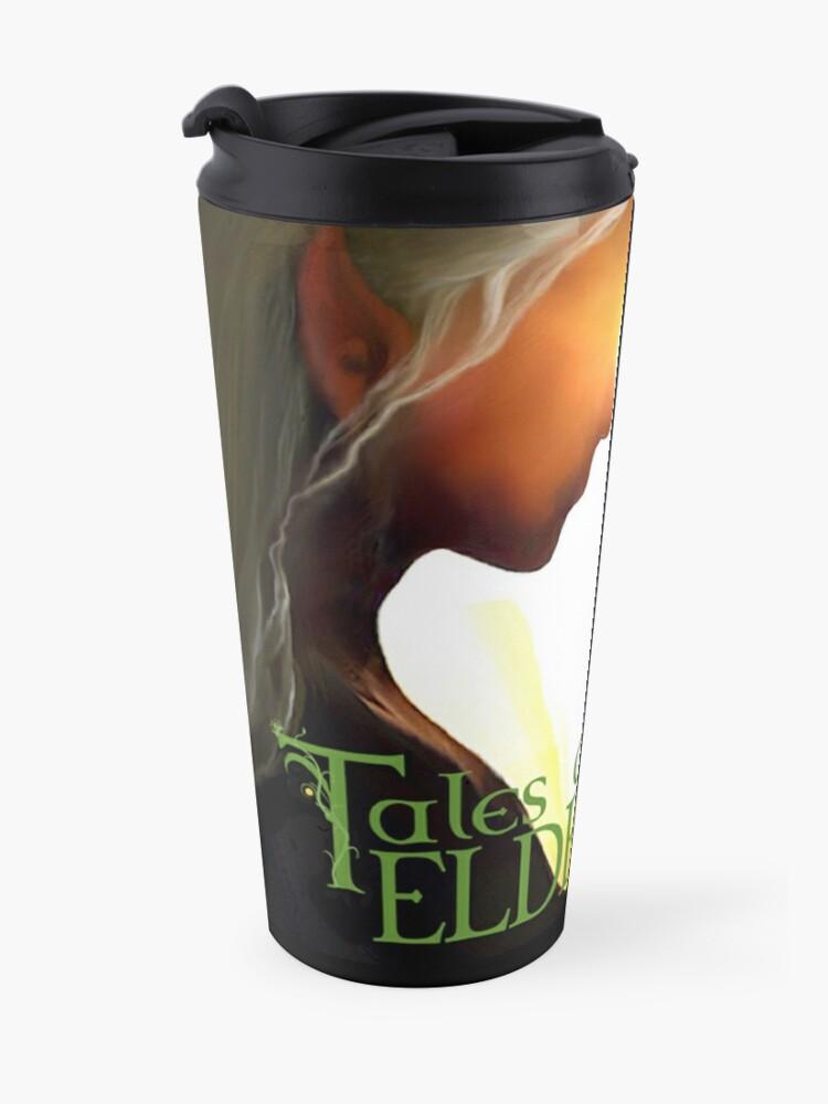 Alternate view of Tales of Eldelórne Travel Mug