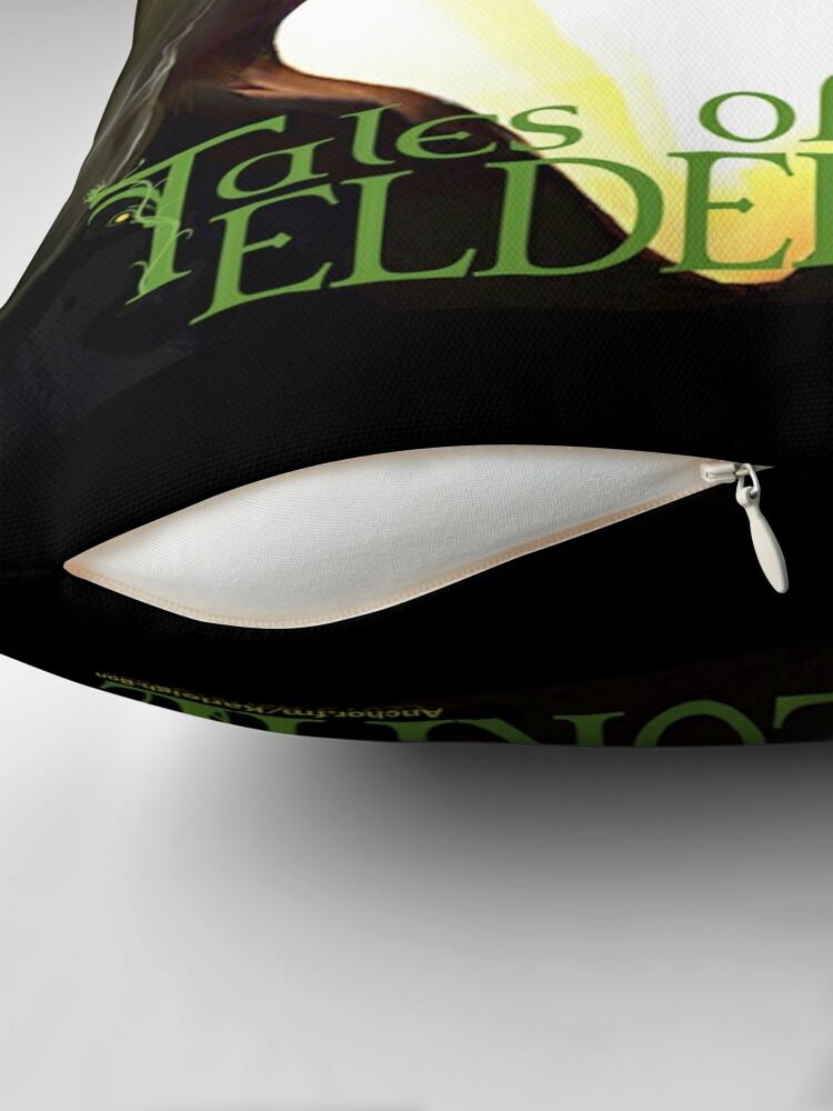Alternate view of Tales of Eldelórne Throw Pillow