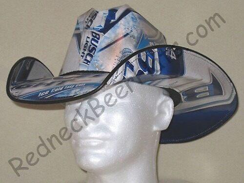 Busch Light Style Beer Box Cowboy Hat by shakiamen26