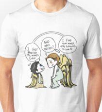 Fledgling Castiel + Gabriel Unisex T-Shirt