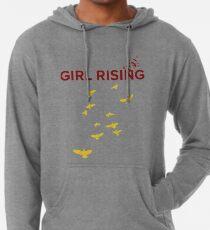 Girl Rising   Lightweight Hoodie