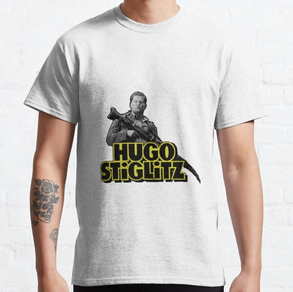 Hugo Stiglitz - Large Print Classic T-Shirt