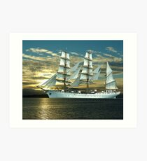 Windjammer Art Print
