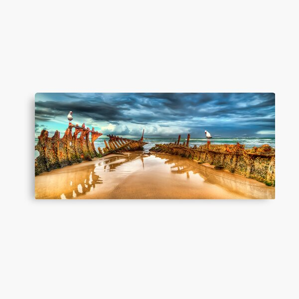 The SS Dicky Canvas Print