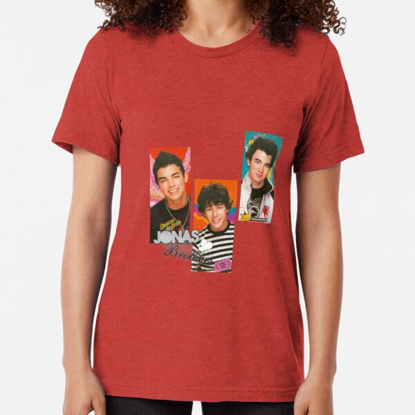 2000s inspired Jonas Brothers merch Tri-blend T-Shirt Unisex Tshirt