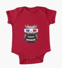 Owl - 3D Glasses One Piece - Short Sleeve