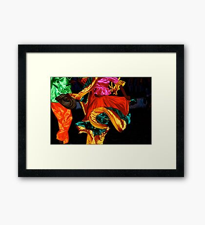 Cumbia in Colombia II Framed Print