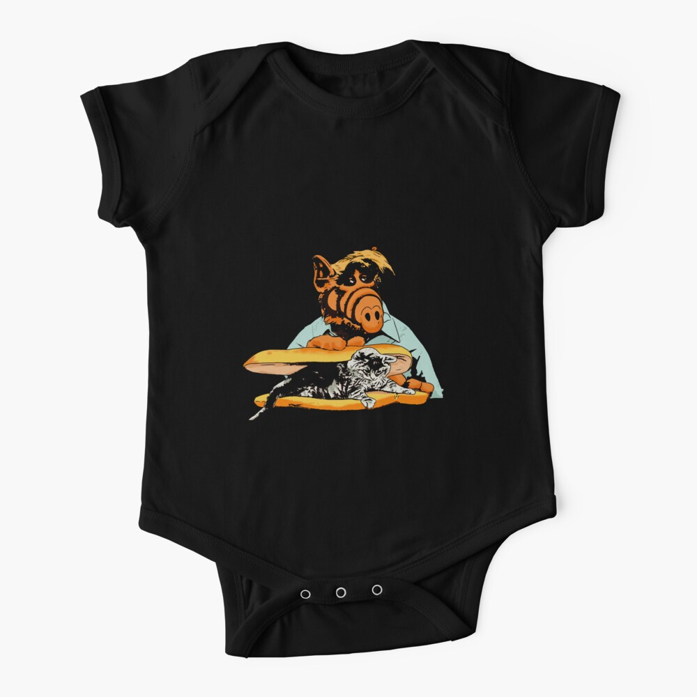Kitty Sandwich  Alf the extraterrestrial Tv show Baby One-Piece