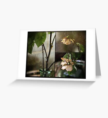 withered Greeting Card