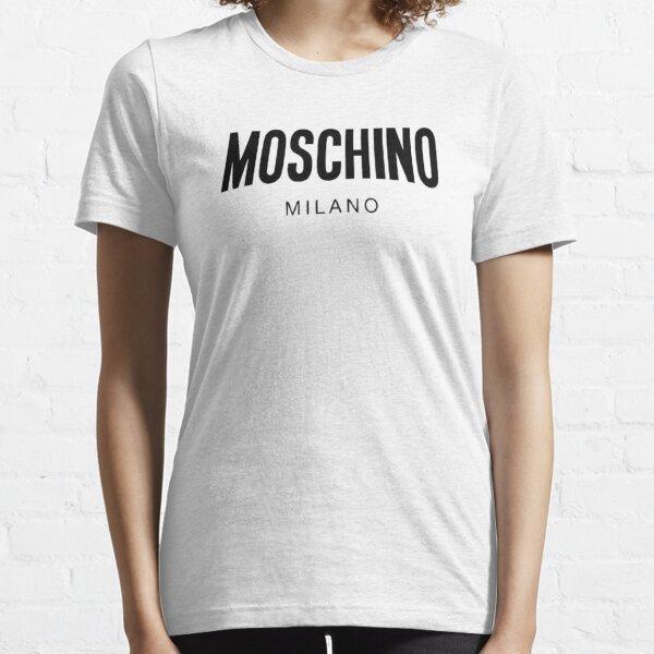 Moschino Milano Black Camiseta esencial