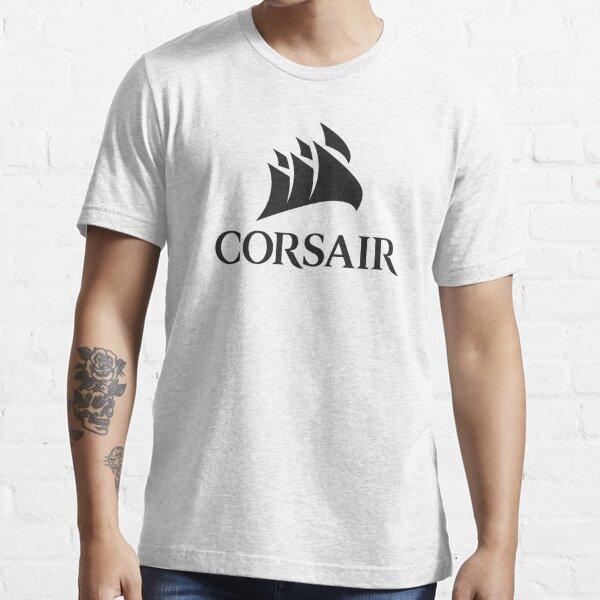 Corsair PC Component Logo Black Essential T-Shirt