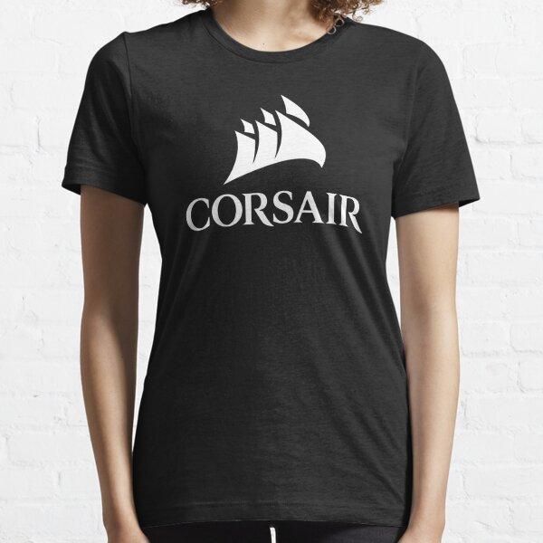 Corsair PC Component Logo White Essential T-Shirt