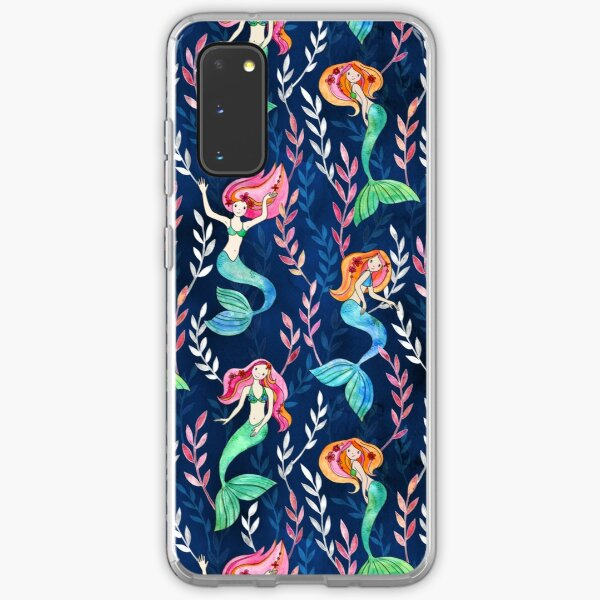 Merry Mermaids in Watercolor  Samsung Galaxy Soft Case