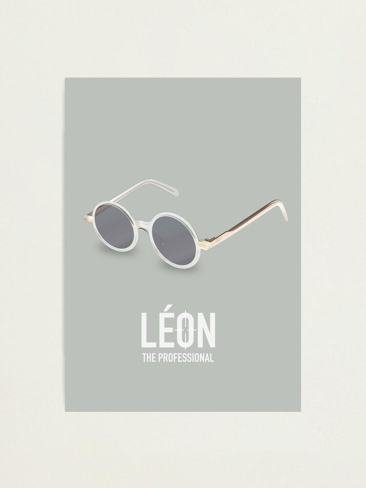 Alternate view of Leon: The Professional - Alternative Movie Poster Photographic Print
