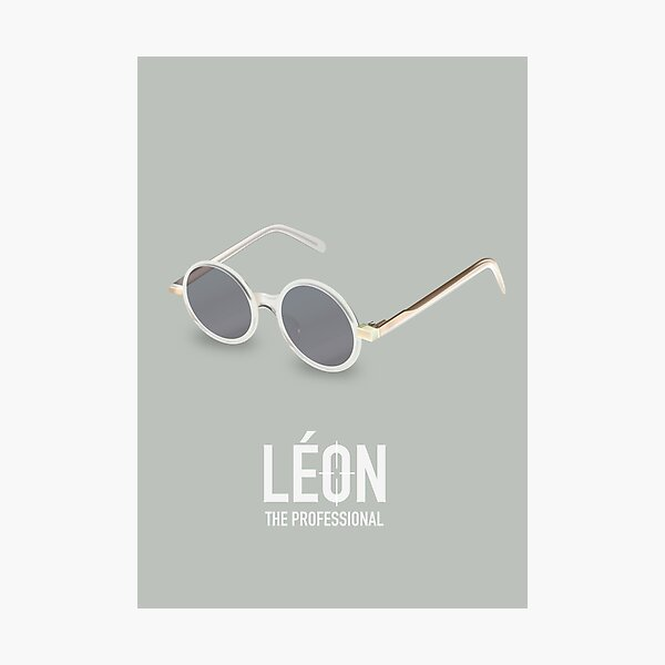 Leon: The Professional - Alternative Movie Poster Photographic Print