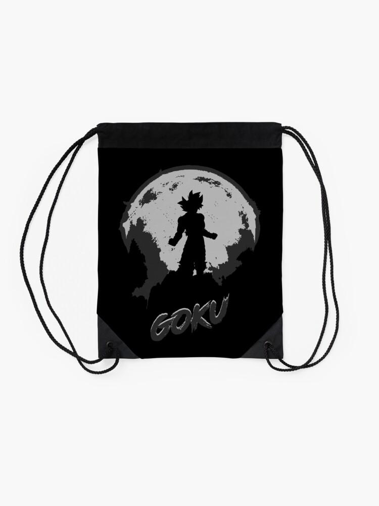 Alternate view of Moon hero 2 Drawstring Bag