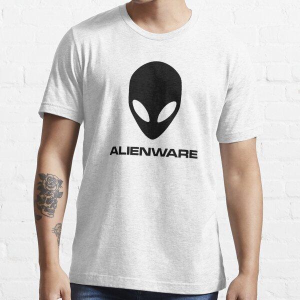 Alienware Dell Gaming logo Black Essential T-Shirt