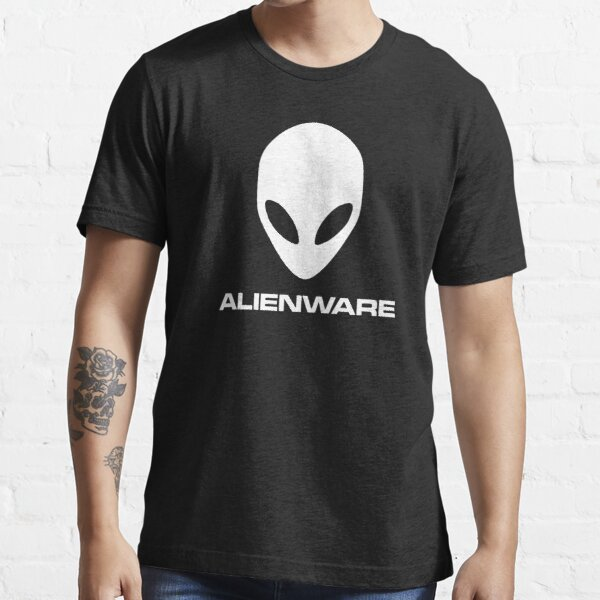 Alienware Dell Gaming logo Blanc T-shirt essentiel