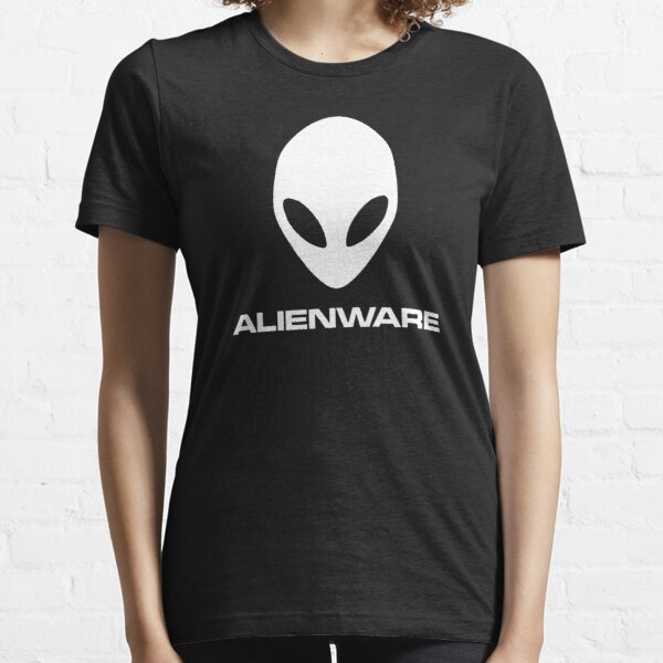 Alienware Dell Gaming logo White Essential T-Shirt