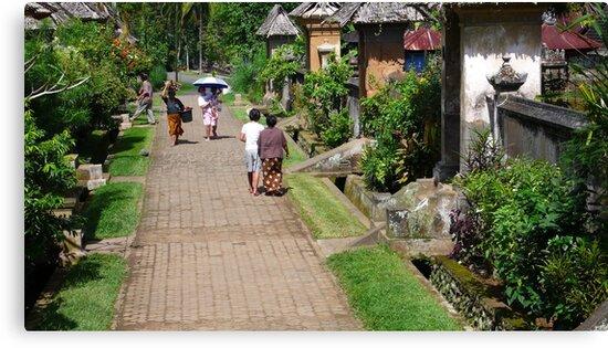 beautiful balinese village by supergold