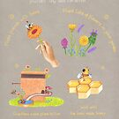 how to make honey and be kind to bees by EllenLambrichts