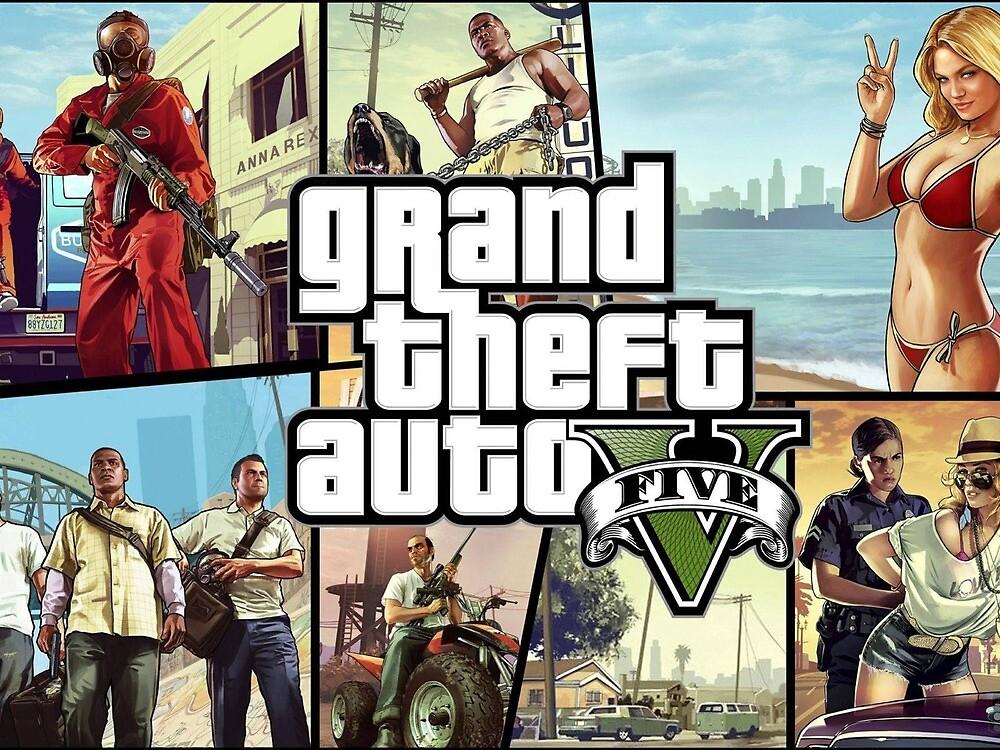 GTA 5 Free Download by mitziklarcak