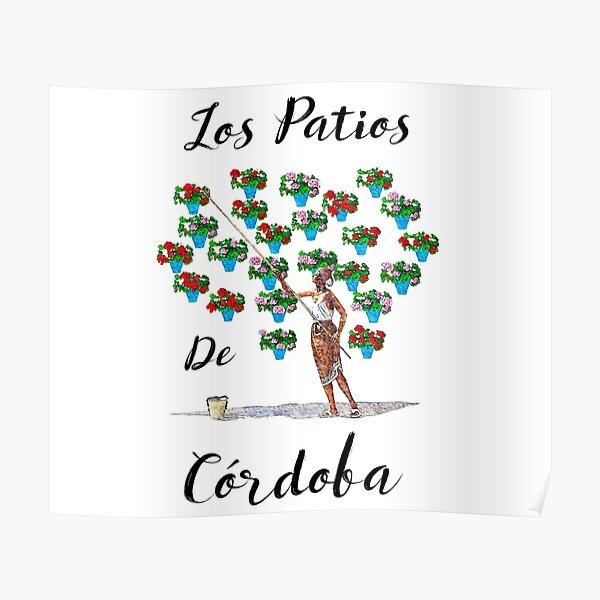 Courtyards of Córdoba Poster