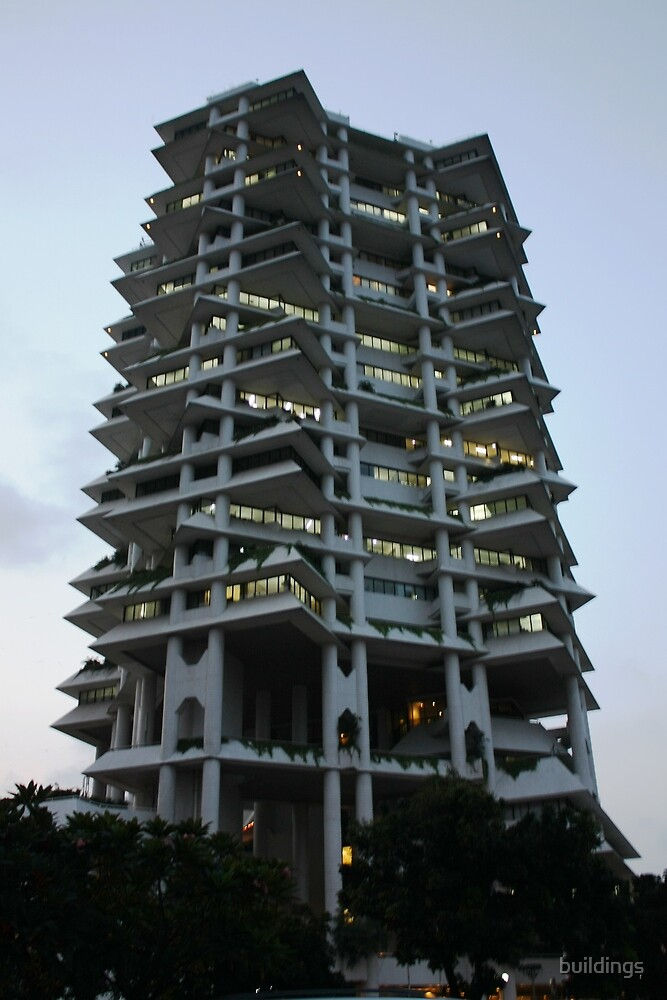 Intiland Tower by buildings