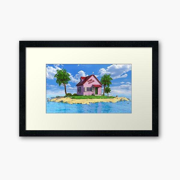 Kame House Framed Art Print