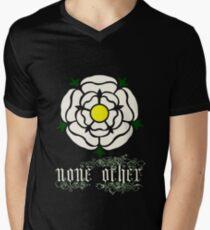 Rose Argent Mens V-Neck T-Shirt
