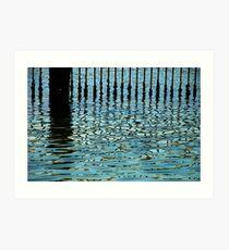 Clontarf reflections Art Print