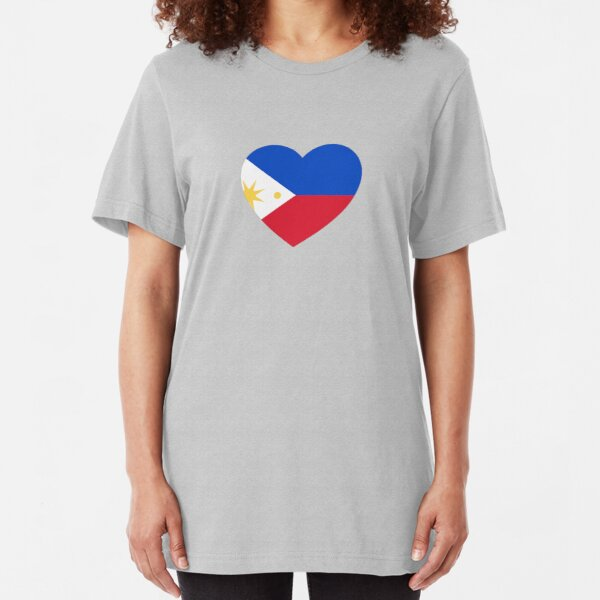 Filipino Heart Slim Fit T-Shirt